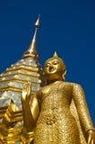 Buddhistischer Tempel von Wat Phrathat Doi Suthep Lizenzfreie Stockbilder