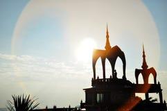 Buddhistischer Tempel Wat Phra That Pha Sons Kaew, Thailand Lizenzfreie Stockfotografie