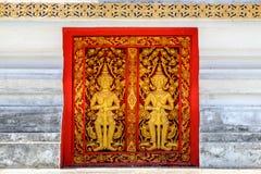 Buddhistischer Tempel Windows Lizenzfreies Stockbild