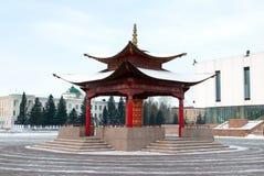 Buddhistisches Gebetrad Stockbilder