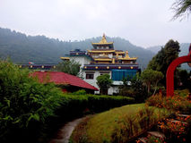Buddhistisches Gumba Nepal Stockbild