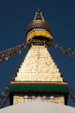 Buddhistisches stupa stockfoto