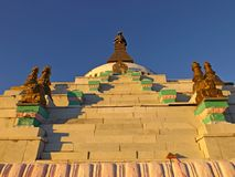 Buddhistisches Stupa Lizenzfreie Stockbilder