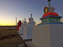 Buddhistisches Stupa Lizenzfreies Stockfoto