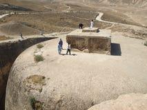 Buddhistisches stupa in Samangan, Afghanistan stockfotografie