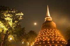 Buddhistisches stupa in Sukhothai stockfotos