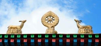 Buddhistisches Symbol (JPG +EPS) Stockfoto