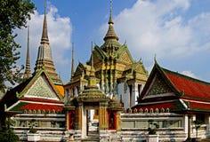 Buddhistisk Tempel en Bangkok Fotos de archivo libres de regalías