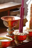 Buddhists cup Royalty Free Stock Photos