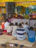 Buddhists praying Royalty Free Stock Image