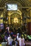 Buddhists praying Stock Photography