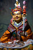 Buddhists Statue at Thiksey Gompa in Ladakh, India. Buddhists statue of Guru Padmasabhava at Thiksey Gompa (Tibetan Buddhist Monastery) in Ladakh, Jammu and Royalty Free Stock Image