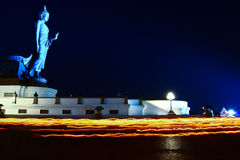 Makha Bucha day in Thailand Stock Images