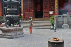 Buddhists Stock Photo