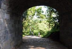 Buddish洞寺庙Dambulla,联合国科教文组织世界遗产名录站点,斯里兰卡海岛的中部 库存照片