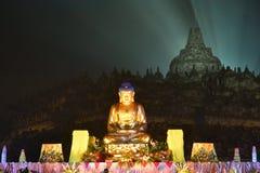 Buddish staty Arkivfoton