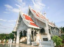 Buddish tempel Arkivbild