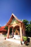 Buddish tempel runt om Laos Royaltyfria Bilder