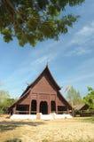The Buddish temple in Luang Pra Bang , Laos. Royalty Free Stock Images