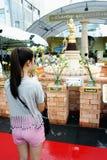 Buddisht Beten Stockfoto
