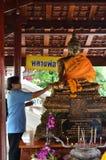 Buddisht Beten Stockfotografie
