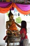 Buddisht Beten Lizenzfreie Stockbilder