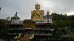 Buddisht en la naturaleza del lnka del sri del país Foto de archivo