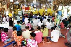 Buddisht Praying Royalty Free Stock Images
