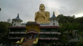 Buddisht in sri lnka Beschaffenheit des Landes stockfoto