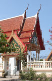 Buddishtempel in Thailand Royalty-vrije Stock Afbeeldingen
