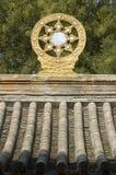 Buddism轮子 免版税库存照片