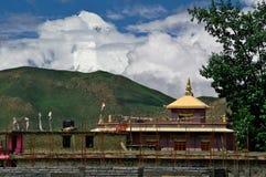 Buddism в Гималаях Стоковое Изображение