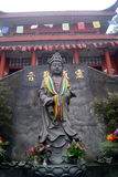 A Buddism godness Guanyin statue of Buddha Royalty Free Stock Photography
