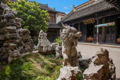 A Buddism godness Guanyin Temple in Stock Photos