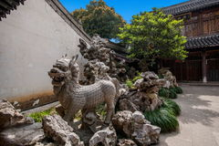A Buddism godness Guanyin Temple in Stock Photography