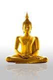 buddism isolerad staty Royaltyfri Foto