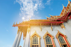 Buddism temple in Thailand Royalty Free Stock Images