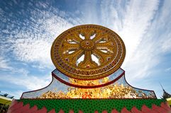 Buddism wheel Stock Photos