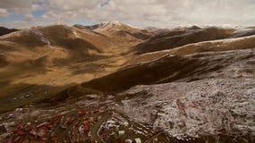 Buddisminstitut i Tibet Arkivbilder