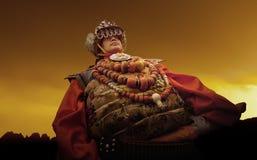 Buddismo tibetano Fotografia Stock Libera da Diritti