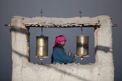Buddismo tibetano Immagini Stock Libere da Diritti