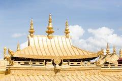Buddismo tibetano Lhasa Tibet del tempio di Jokhang Fotografia Stock