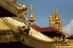 Buddismo tibetano Lhasa Tibet del tempio di Jokhang Immagini Stock