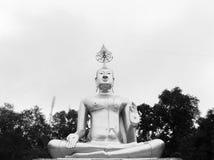 Buddismskulptur Arkivfoto