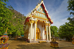 Buddismtempel i Thailand Royaltyfri Fotografi