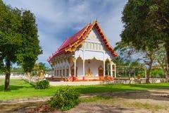 Buddismtempel i Thailand Arkivbilder