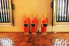buddist寺庙-内部细节  免版税库存图片