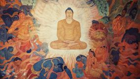 Buddist świątyni izbowy obraz obrazy royalty free