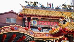 Buddist świątynia w Taipei, Tajwan fotografia stock