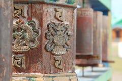 Buddist attributes  Royalty Free Stock Photo